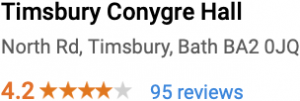 Conygre Hall Google Reviews